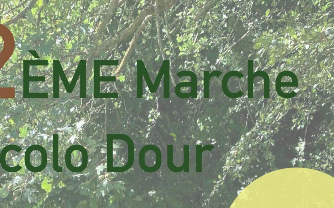 Dour (Blaugies) – 2ème Marche Écolo > Samedi 24 juillet 2021