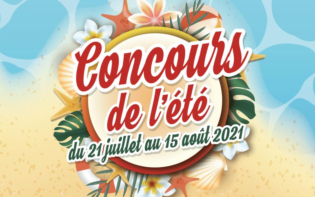 Participez à notre grand concours de l'été !